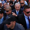 Netanyahu campaigning in Ashkelon