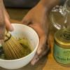Traditional matcha tea