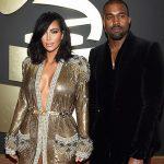 Kim Kardashian & Kanye West - Getty
