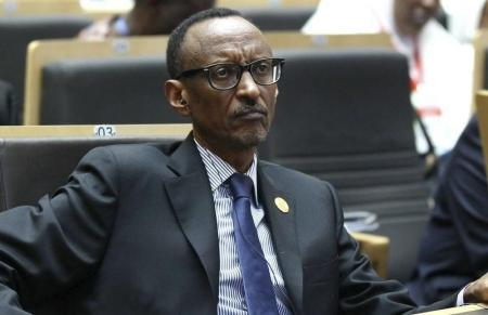 Rwanda's President Kagame attends the opening ceremony of the Ordinary session of the Assembly of Heads of State and Government of the AU at the African Union headquarters in Addis Ababa