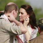 Prince William, left, and Kate, the Duchess of Cambridge