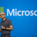 Key Speakers At The Microsoft Corp. Build Developers 2016 Conference