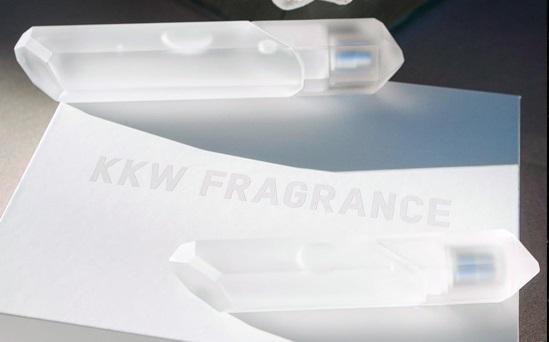 Kim kardashian fragrance bottle