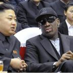 Dennis Rodman and Kim Jung-un
