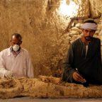 Egyptian archaeologists