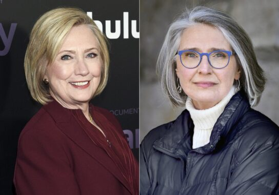 Hillary Clinton and Louise Penny