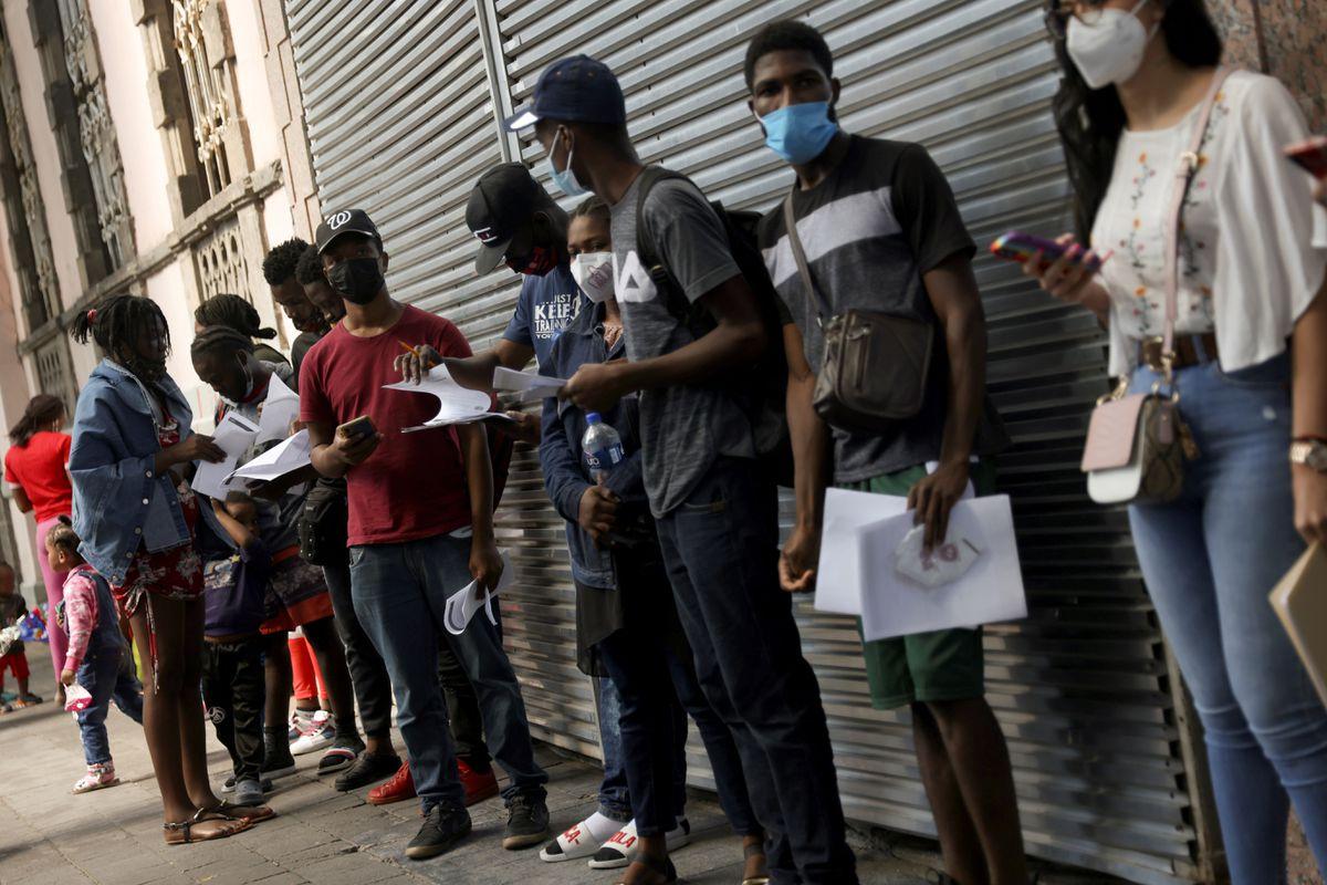 Migrants from Haiti