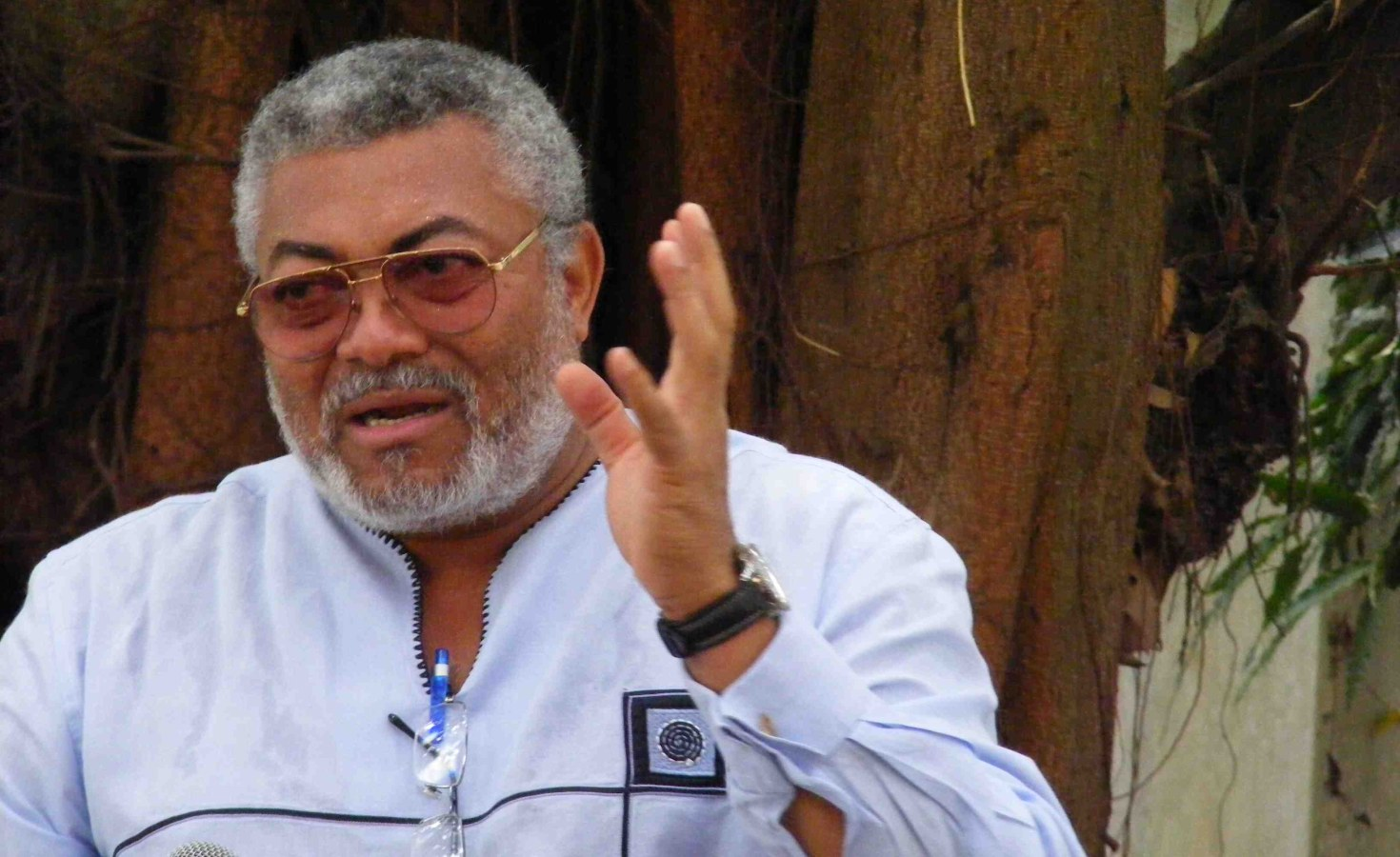 Ghana's former leader Jerry Rawlings